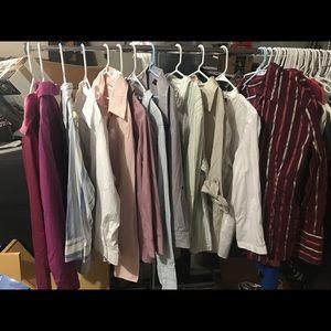Women's work shirt lot